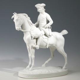 Friedrich II. auf Pferd