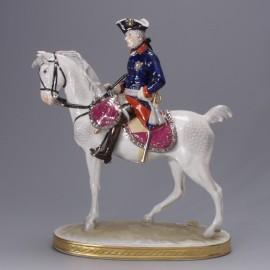 Friedrich II. auf Pferd 1740-1786