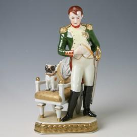 Figur Napoleon I. 1769-1821 Mops