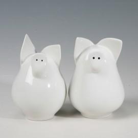 Schweinestreuer Paar