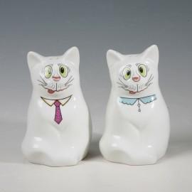 Katzen Salz und Pfefferstreuer